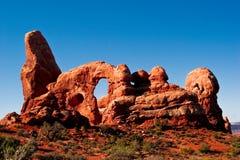 Arquea el parque nacional Foto de archivo libre de regalías