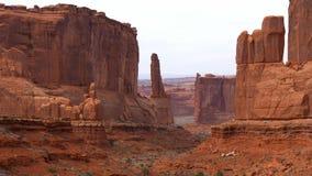 Arquea el parque nacional - el lugar más hermoso en Utah metrajes