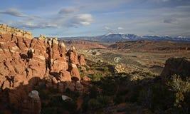 Arquea el parque nacional, Utah, los E Fotos de archivo libres de regalías