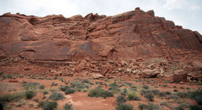 Arquea el parque nacional, Utah, los E Imagenes de archivo