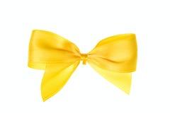 Arqueamiento amarillo Foto de archivo libre de regalías