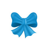 arqueamiento azul aislado en el fondo blanco Vector Foto de archivo libre de regalías