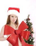 Arqueamiento de la belleza de la Navidad Imagen de archivo libre de regalías