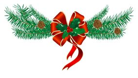 Arqueamiento de la Navidad libre illustration