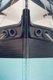 Arqueamiento de un velero Imagen de archivo libre de regalías