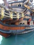 Arqueamiento del galleon Fotos de archivo