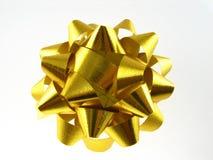 Arqueamiento del oro Imagenes de archivo
