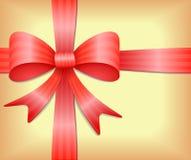 Arqueamiento del regalo Foto de archivo libre de regalías