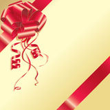 Arqueamiento rojo Libre Illustration