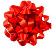 Arqueamiento rojo del paquete Imágenes de archivo libres de regalías