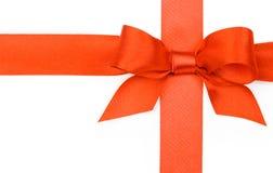 Arqueamiento rojo hermoso Foto de archivo libre de regalías