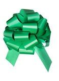 Arqueamiento verde aislado en blanco Imagen de archivo