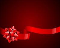 Arqueamiento y cinta rojos libre illustration
