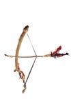 Arqueamiento y flecha Imágenes de archivo libres de regalías