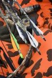 Arqueamiento y flechas. Imagen de archivo