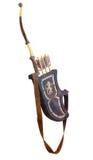 Arqueamiento y flechas Fotografía de archivo libre de regalías