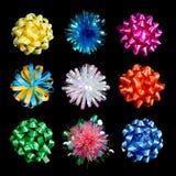 Arqueamientos de embalaje coloridos    Imagen de archivo