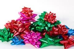 Arqueamientos de la Navidad Fotografía de archivo libre de regalías