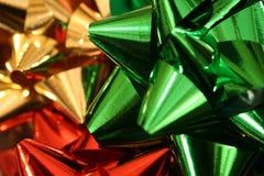 Arqueamientos de la Navidad imagenes de archivo