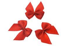 Arqueamientos decorativos rojos Fotos de archivo libres de regalías