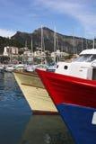 Arqueamientos del barco Foto de archivo libre de regalías