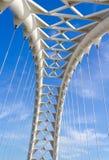 Arquee en el puente de la bahía de Humber en Toronto Foto de archivo