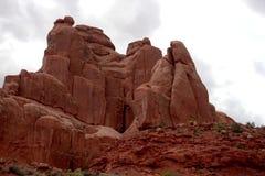 Arqueia o parque nacional, Utá, EUA Imagens de Stock