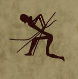Arqueiro tribal Imagens de Stock