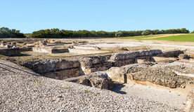 Arqueológico romano permanece Imagen de archivo