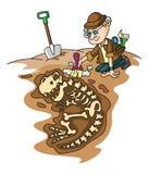 arqueología ilustración del vector