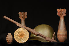 Arqueología militar Imágenes de archivo libres de regalías