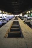 Arqueología industrial Foto de archivo libre de regalías