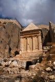 Arqueologia em Jerusalem - atracção turística Imagem de Stock Royalty Free