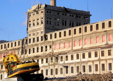 Arqueologia industrial Foto de Stock