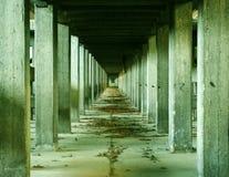Arqueologia industrial Fotografia de Stock
