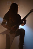 Arquez l'ennemi sur la salle de concert de clinquant de Barcelone 2012 Photo prise : Le 27 octobre 2012 Image stock