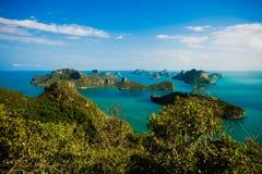 Arquipélago da tanga do ANG, Fotos de Stock