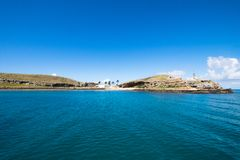 Arquipélago de Abrolhos, ao sul de Baía, Brasil imagens de stock royalty free