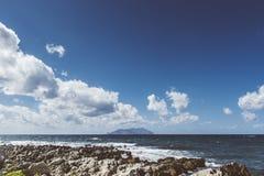 Arquipélago de Favignana Foto de Stock Royalty Free