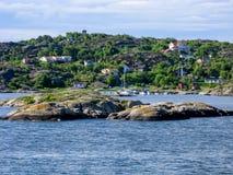 Arquipélago de Gothenburg na Suécia Fotografia de Stock Royalty Free