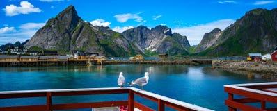 Arquipélago de Lofoten imagens de stock