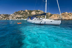 Arquipélago do La Maddalena, Sardinia Imagem de Stock Royalty Free