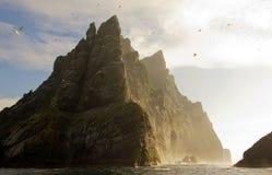 Arquipélago do St Kilda, Hebrides exterior, Escócia imagens de stock
