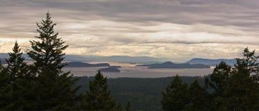 Arquipélago dos consoles de San Juan em Washington Fotografia de Stock Royalty Free