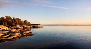 Arquipélago em Éstocolmo. Imagens de Stock