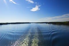 Arquipélago sueco Imagem de Stock Royalty Free