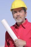 Arquitecto, constructor, contratista Foto de archivo