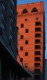 Arquitecto de Chicago en la oscuridad fotografía de archivo