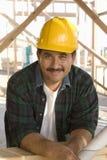 Arquitecto de sexo masculino At Construction Site Fotos de archivo libres de regalías