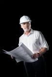 Arquitecto de sexo masculino maduro Fotografía de archivo libre de regalías